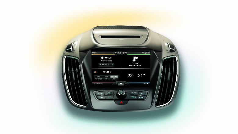 Ford SYNC 2 mit Touchscreen