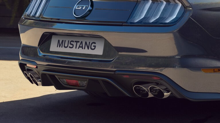 der neue Ford Mustang - 4 Endrohre