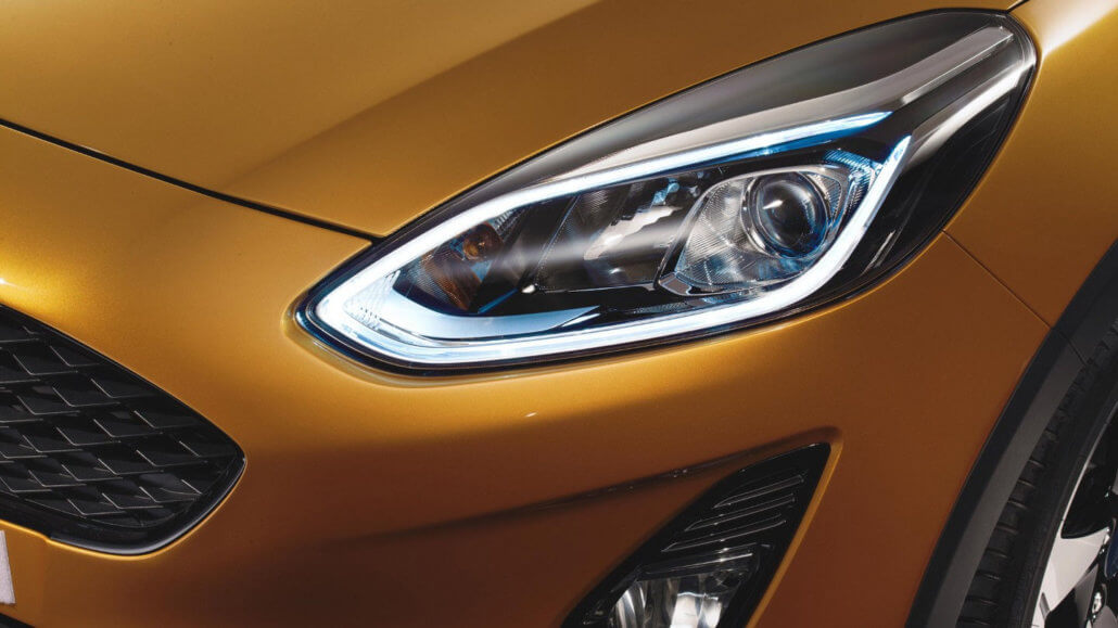 Ford Fiesta Active LED-Tagfahrlicht